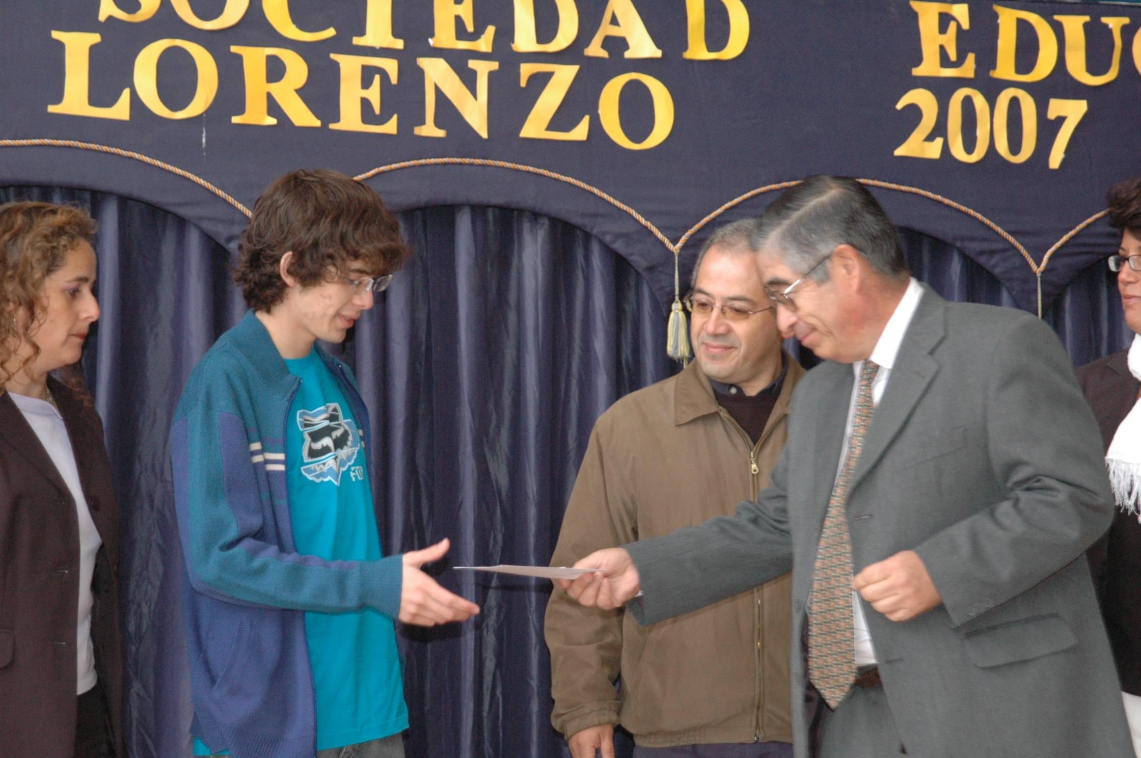 Emilio Carvajal Iraira 2007